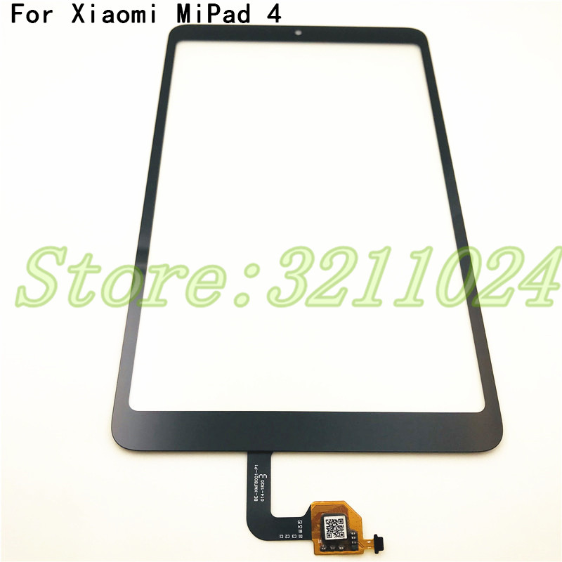 100% Tested High Quality 8.0 Inches For Xiaomi Mipad Mi Pad 4 Mipad4 Touch Screen Digitizer Sensor Outer Glass Lens Panel