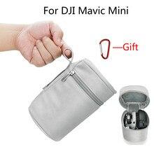 Bolsa de almacenamiento de control remoto y Dron para DJI Mavic Mini, estuche de transporte impermeable, funda protectora con hebilla, accesorios de Mavic