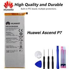 Original Huawei HB3543B4EBW Phone Battery For Huawei Ascend P7 P7-L07 P7-L09 P7-L00 P7-L10 P7-L05 P7-L11 2530mAh