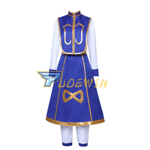 Hunter X Hunter Cosplay Kurapika Cosplay Costume For Adult Men Women Kids Halloween Full Outfits Custom Made