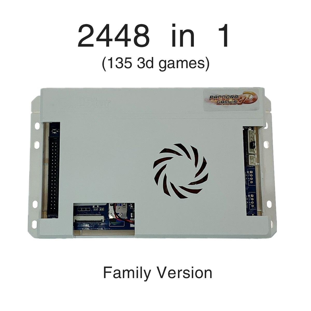 2650 в 1 3D Pandora Saga Box семейная версия аркадный шкаф HD видео Jamma HDMI VGA игровая Консоль геймпад материнская плата FBA MAME PS