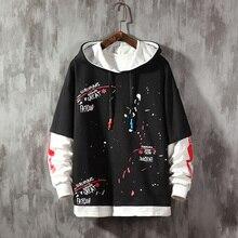 Leaf Letter Printing hoodies Fashion Mens Sweatshirts  Hooded Man Hoodies High Quality