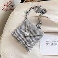 Mini diamante moda feminina festa bolsa de embreagem bolsas e bolsas bolsa de ombro corrente designer saco da menina noite bolsa bosla