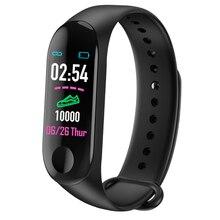 M3 Bluetooth Smart Watch Heart Rate Blood Pressure Monitor Fitness Tracker Smart Bracelet Band Waterproof Sport Wristband недорого