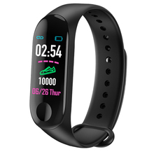M3 Bluetooth Smart Watch Heart Rate Blood Pressure Monitor F