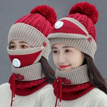 2020 новейший дизайн теплая зимняя шапка набор шерсть вязание