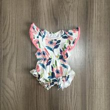 baby clothes baby girls floral romper in