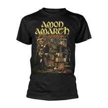 Amon Amarth Thor Offizielle T T-Shirt Herren Unisex(China)