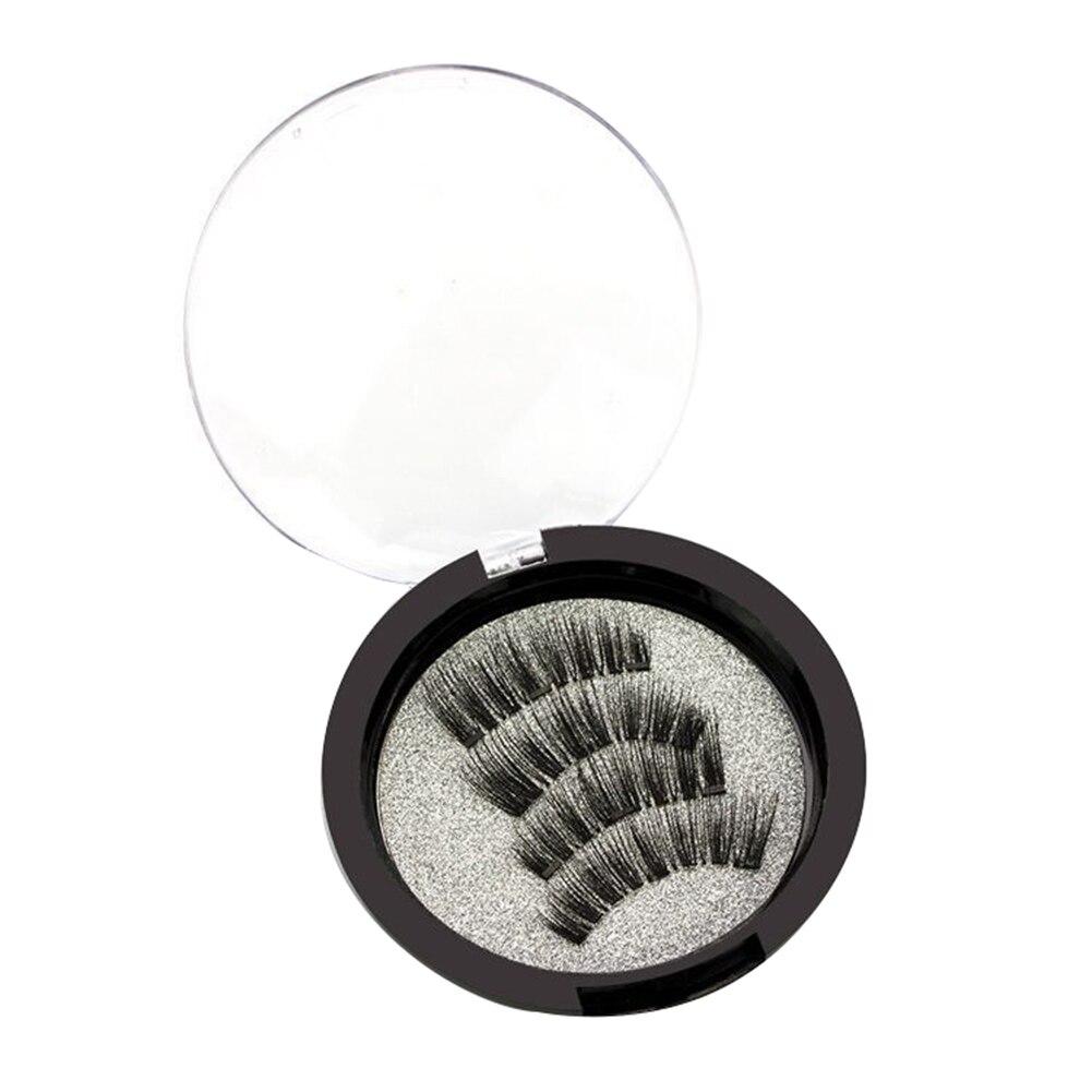 2019 Mink Eyelashes 3D Magnet Mink Lashes Dramatic Eye Lash Handmade Cruelty free Mink Lashes False Eyelashes Makeup Lashes in False Eyelashes from Beauty Health