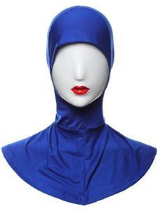 Image 5 - Ramadan Muslim Women Inner Cap Full Cover Islamic Under Scarf Hijab Hat Headwear Ninja Bonnet Amira Niquabs Solid Color Fashion