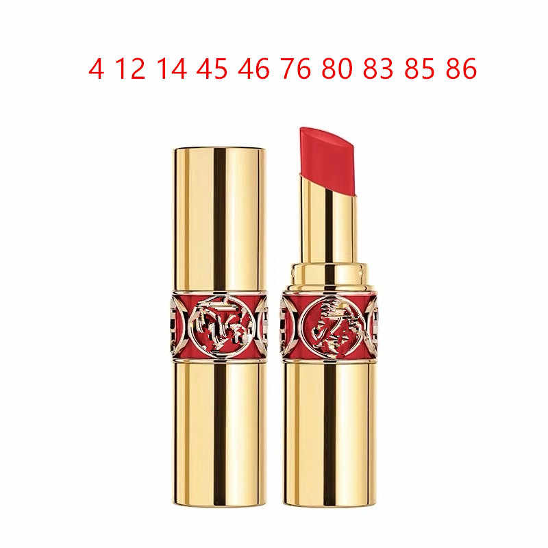 Gold bar 21 colors. sexy lips Matte and lasting   lipstick set up popular color waterproof waterproof Lip Balm star style