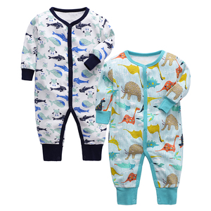 Image 5 - Infant Jumpsuit Newborn Romper Baby Clothing 100% cotton 3 6 9 12 18 24 Months Baby Clothes