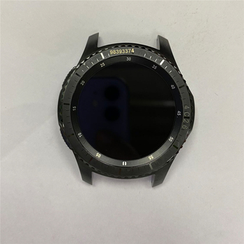 Replacement Watch LCD Screen Assembly with Shell for Samsung Gear S3 SM-R760/ SM-R765 Smart Watch Repair Parts
