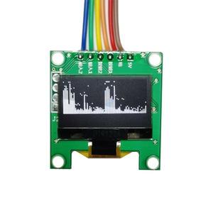 Image 1 - Мини анализатор спектра музыки OLED, 0,96 дюйма, MP3, ПК, усилитель, индикатор уровня звука, анализатор ритма музыки, измеритель УФ