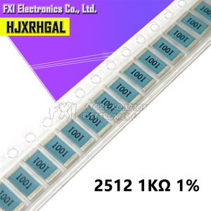 50PCS 2512 SMD Resistor 1K ohm 1% 1W New original 1001