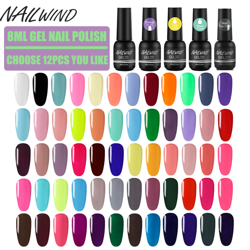 Nailwind Nail Gel Sets Colorful Gel Nail Polish For Nail Art Manicure Kit Paiting Poly Gel Varnishes Kit