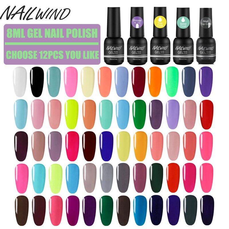 Nailwind Nail Gel Sets Colorful Gel Nail Polish For Nail Art Manicure Kit Paiting Poly Gel Varnishes Kit
