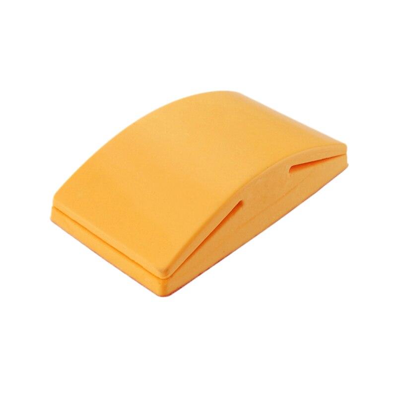 5 дюймов шлифовальный блок резиновый крюк петля подложка держатель наждачной бумаги ручной шлифовальный блок полировальные инструменты