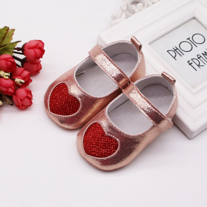 Baby Shoes Newborn Infant Baby Girls Crib Shoes Soft Sole Anti-slip Sneakers Shoes Girls First Walkers