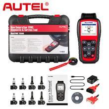 Autel TS508K OBD2 rfid kartı araba teşhis aracı + 4 adet 315Mhz + 4 adet 433 Mhz Premium TPMS servis aktif lastik basıncı sensörü