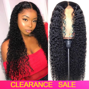 Brazilian Curly Human Hair Wigs Pre plucked 4x4 13x4 Lace Closure/Front Human Hair Wigs For Women 150% Remy Curly Lace Front Wig