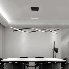 Современная подвесная люстра для офиса столовой кухни алюминиевые