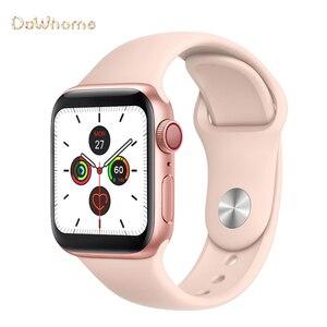 Смарт-часы с Bluetooth, 40 мм, сменный Браслет, монитор сердечного ритма, фитнес-трекер, умные часы VS IWO8 IWO10 IWO12