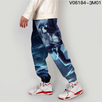 Jojo Bizarre Adventure Jogger Men Streetwear Spring Autumn Sweatpants Anime Casual Trackpants Men Harajuku Pants Fashion Loose 4