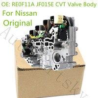 Genuine OEM RE0F11A JF015E JF011E CVT Valve Body for Nissan Sentra Tiida JF010E Replacement Auto Parts Refurbished