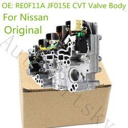 Oryginalne OEM RE0F11A JF015E JF011E zawór CVT ciała dla Nissan Sentra Tiida JF010E wymiana Auto części odnowiony w Zawory i części od Samochody i motocykle na