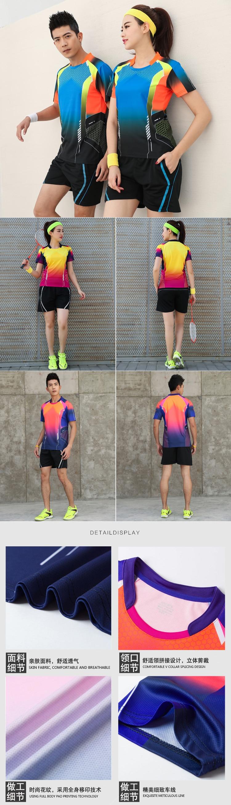 Camisa de tênis t para roupa esportiva