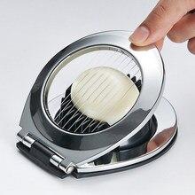 Multifuncional casa cortador de ovo cozido frutas slicer cozinha gadget ferramenta para ovos salgados cogumelo tomate cortador dropshipping