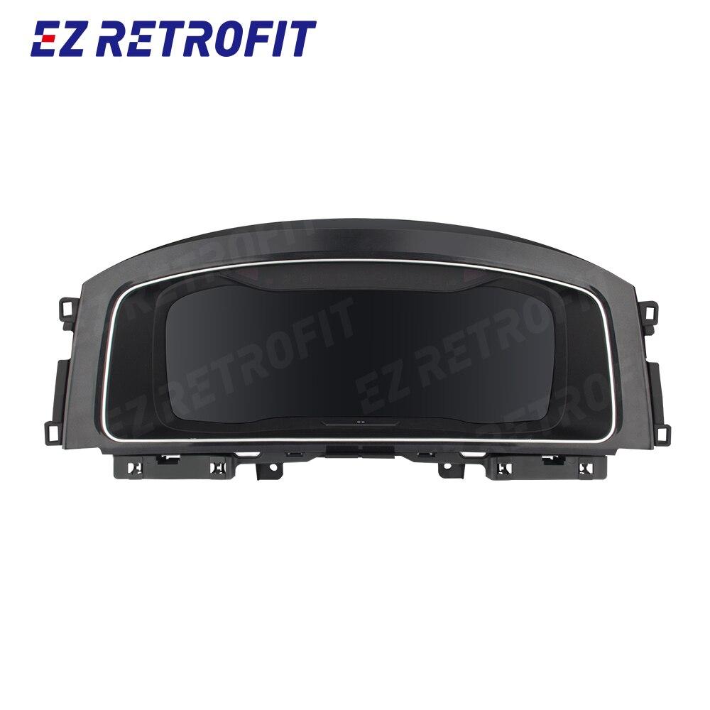 HD цифровой сотовый телефон на приборную панель зеркальный виртуальный кабина IPS экран кластер виртуального инструмента для VW Golf 7 Golf 7,5 MK7 MK 7,5|Комплекты датчиков и приборные панели|   | АлиЭкспресс