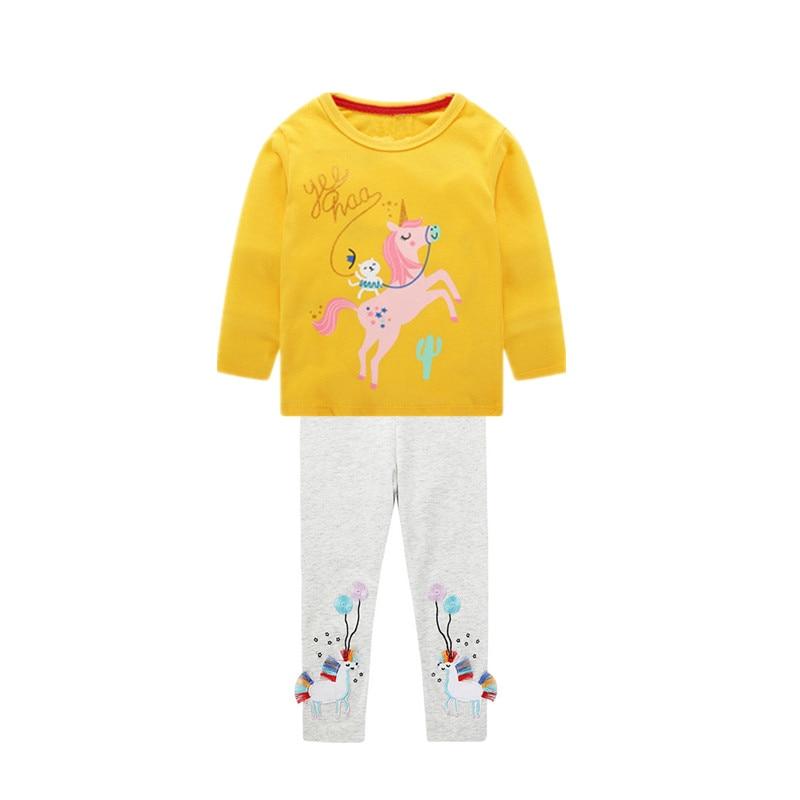 bebê meninas manga longa ternos roupas infantis conjuntos