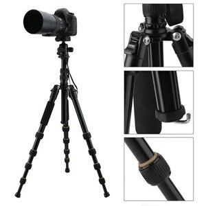 Image 3 - Zomei Lichtgewicht Draagbare Q666 Professionele Reizen Camera Statief Tripode Aluminium Statiefkop Monopod Voor Digitale Dslr Camera