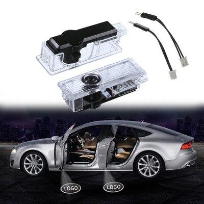 20 шт. Автомобильный Дверной Свет Логотип Автомобильный лазерный проектор призрак свет для B M W E39 E90 E91 E92 E93 X5 X3 X7