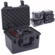 Waterproof Safety Case ABS plastic ToolBox Outdoor Sealed Safety tool Box Equipment instrument Tool Case shockproof cheap toohr CN(Origin)