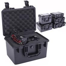 Waterdichte Veiligheid Case Abs Plastic Toolbox Outdoor Verzegelde Veiligheid Gereedschapskist Apparatuur Instrument Tool Case Shockproof