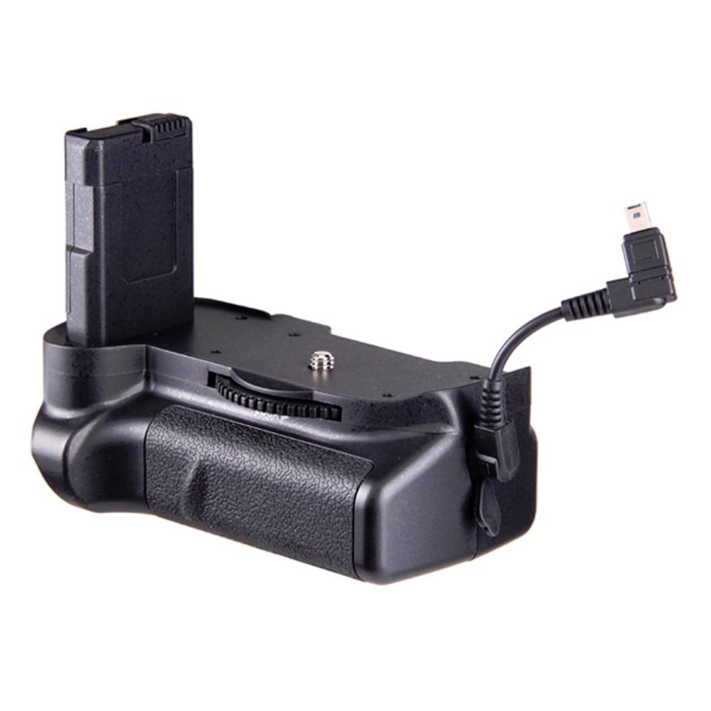 Travor BG-2G Battery Grip Vertical Black Battery Grip Holder for Nikon MB-D10 for Nikon D5300 D5200 D5100 Battery Grip