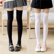 1 par feminino sexy quente coxa meias altas sobre o joelho meias de veludo calze estiramento meia tentação medias overknee meias longas