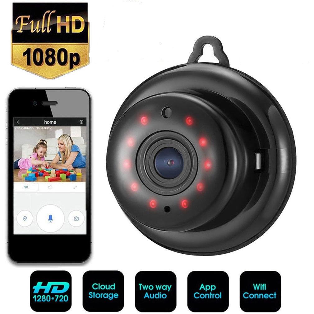 Digoo 1080P HD Cloud Wireless IP Camera Two Way Audio Network WiFi Mini Smart Camera Night Vision CCTV Surveillance Baby Monitor