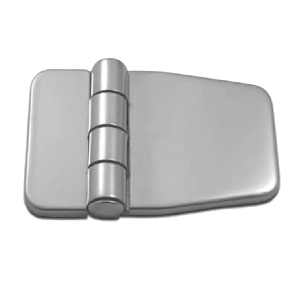 Marine Boat Strap Hinge- Door Shed Box Chest Strap Hinge & Cover- Stainless