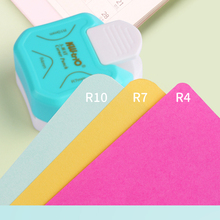 Candy Color R5 R4 R7 R10 Corner Rounder Paper Cutter Punches for Scrapbooking Card Photo Craft DIY Tools School Stationery