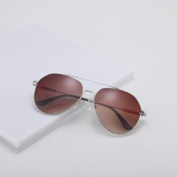 Alloy Frame Pilot Sunglasses