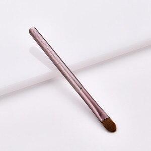 Image 5 - 1pc Luxury Purple Makeup Brushes Set For Foundation Powder Blush Eyeshadow Concealer Make Up Brush Cosmetics Tools