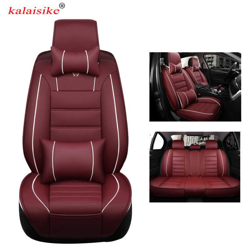 Kalaisike evrensel deri araba koltuğu kapakları için Chevrolet tüm modeller lacetti sonic kıvılcım equinox Cruze Epica aveo Malibu captiva
