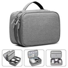 Uchwyt podróży akcesoria elektroniczne uniwersalny/organizator Storage Bag Case dla banku mocy, dysk twardy, inteligentny telefon, ładowarka,