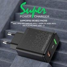 Dpower carregador rápido 22.5w huawei super carga rápida usb 5a carregador de telefone para huawei p40 pro honra nova 4 oppo