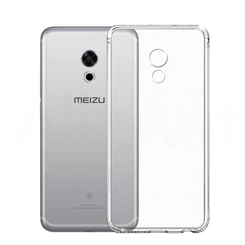 Silicone Soft TPU Clear Case For Meizu Pro 6 7 U10 U20 Transparent Phone Case Cover For Meizu M2 M3 Note M3e M3 M3S Mini Coque