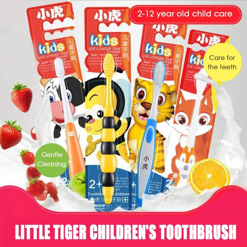 Super Soft Children's Toothbrush Children's Soft Tooth Guard Toothbrush Cartoon Toothbrush